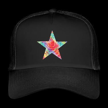 Color star of david - Trucker Cap