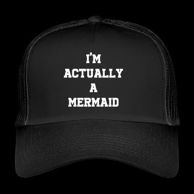 Mermaid mythical creature fairytale gift - Trucker Cap
