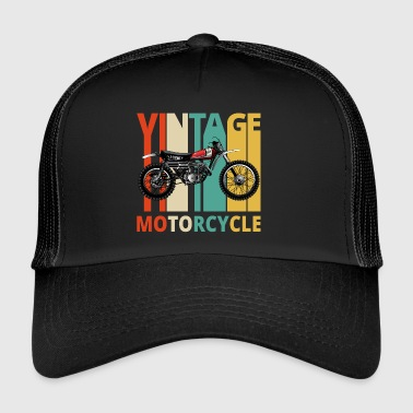 Vintage Motorcycle Gifts for the wild. Dirt Bike - Trucker Cap