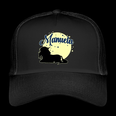 Manuela name first name women girl - Trucker Cap