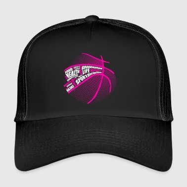 Sports movement basketball - Trucker Cap
