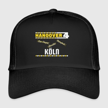 Hangover Party Cologne Allemagne Voyage - Trucker Cap