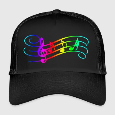 Notes de musique - Trucker Cap