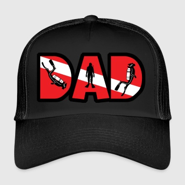 SCUBA DAD - Trucker Cap