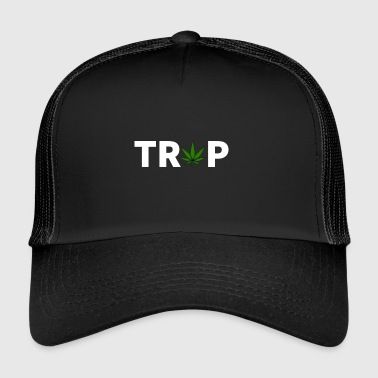 TRAP T-SHIRT | @p45ca1 - Trucker Cap