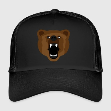 Bear / Bear / Медвед / agressieve - Trucker Cap