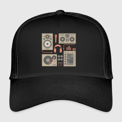 DJ Turntable set - Trucker Cap