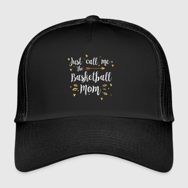 Call Me The Sports Basketball Mom Gift Enkel - Trucker Cap