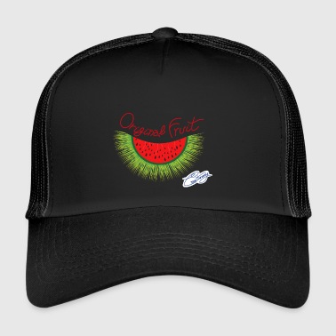 Anguric, unusual fruit, watermelon and hedgehog - Trucker Cap