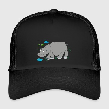Hippo meadow - Trucker Cap