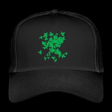 LEAF TREE GREEN - Trucker Cap