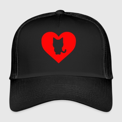Cat cuore - Trucker Cap