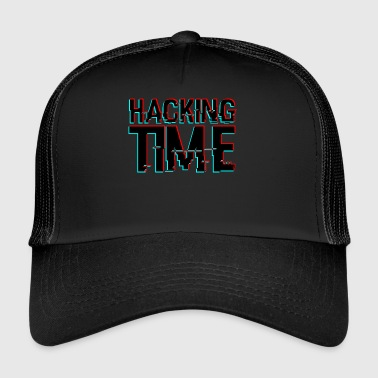 HACKING TIME HACKER - Trucker Cap