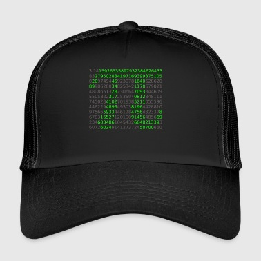 Pi Shirt - Trucker Cap