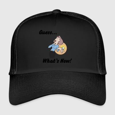 Funny Engagement - Trucker Cap