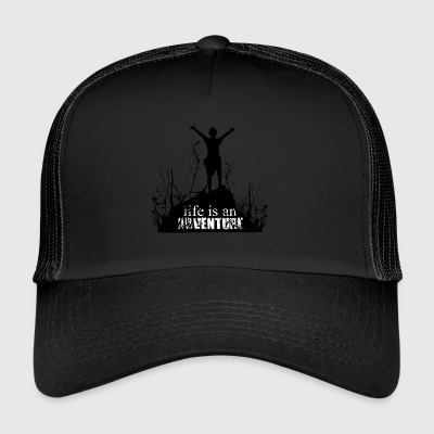 Life is an Adventure - Liebe zur Natur - Trucker Cap