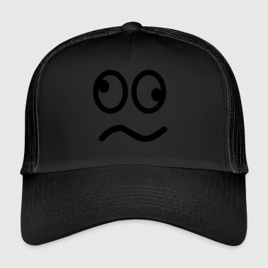 Crazy Smile Face - Trucker Cap