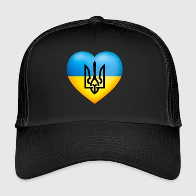 Україна / Ukraina flagga - Trucker Cap