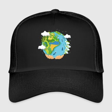 water planet - Trucker Cap