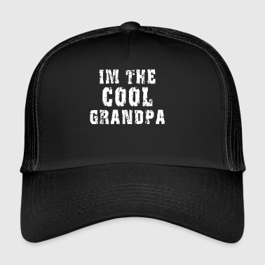 Jeg er The Cool Bedstefar - Trucker Cap