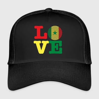SENEGAL HEART - Trucker Cap