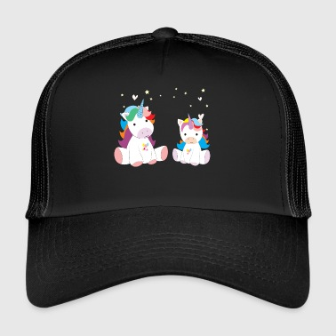twee zoete Unicorns - Trucker Cap