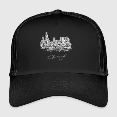 Chicago City - Estados Unidos - Gorra de camionero
