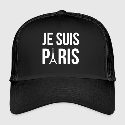 Je suis Paris, I am Paris - Trucker Cap