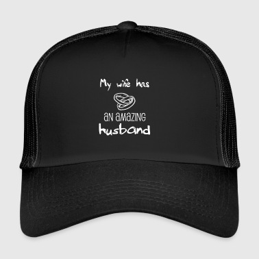 Gift for husband - amazing - best husband - Trucker Cap