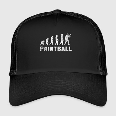 Evolution Paintball Shirt - Paintball T-shirt - Trucker Cap