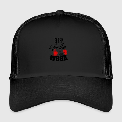 Søvn er for de svage - Trucker Cap