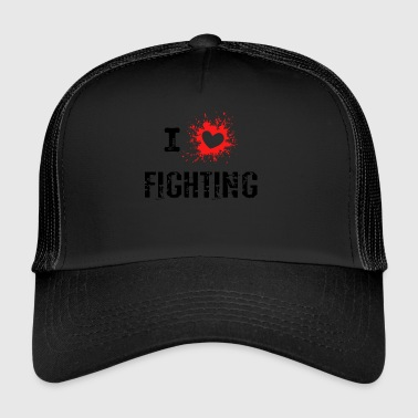 iLove Fighting red - Trucker Cap