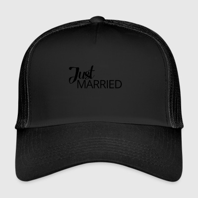 Bryllup / Ekteskap: Just Married - Trucker Cap