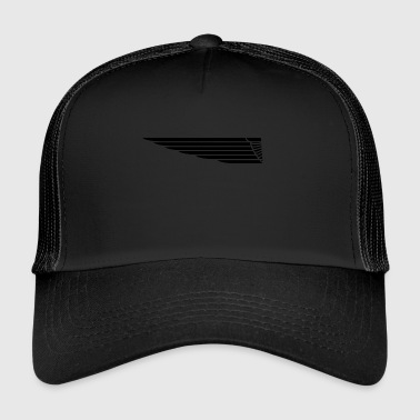 Eagle wing lung - Trucker Cap