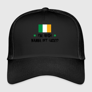 Irlandzki Want To Get Lucky - Trucker Cap