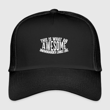 Boarder impressionnant - Boarder Puissance - Trucker Cap