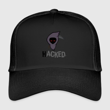 HACKED logo - Trucker Cap