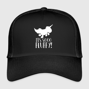 Unicorn - Så myk! - Så fluffy - Trucker Cap