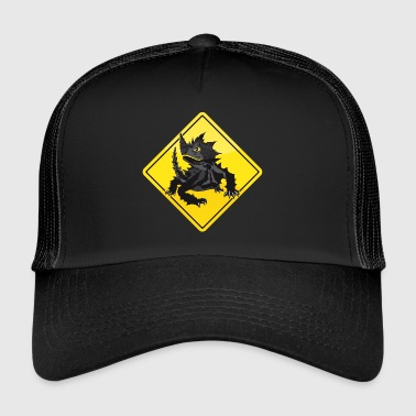Australie Road Sign Épineux diable - Trucker Cap