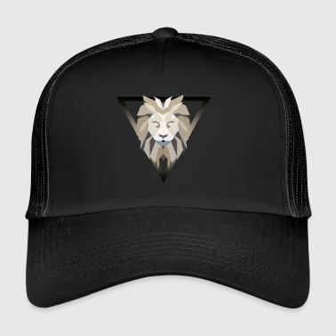 Polygonal lion - Trucker Cap
