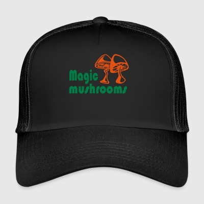 magic mushrooms - Trucker Cap