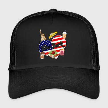I love New York 2 - Trucker Cap