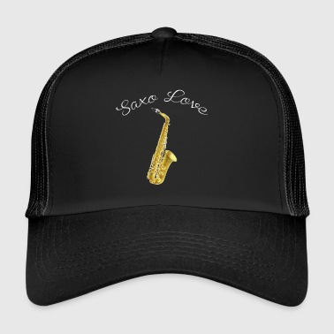 SHIRT SAX LOVE - Trucker Cap