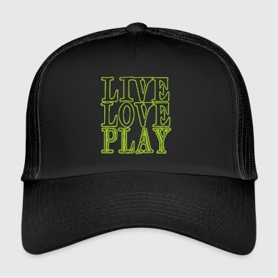 Headset Liveloveplay - Trucker Cap