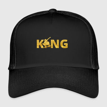 Skateboard King Gold Skater - Trucker Cap