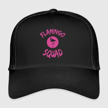 Flamingo Squad - Trucker Cap