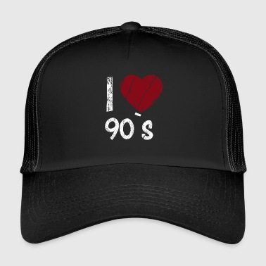 I Love 90`s - Trucker Cap