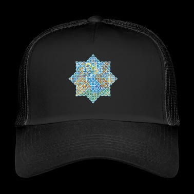 Celtic kwiat - Trucker Cap