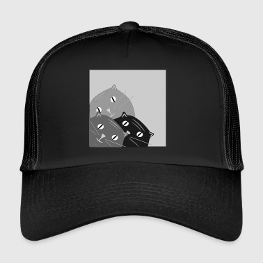 déclive chat - Trucker Cap