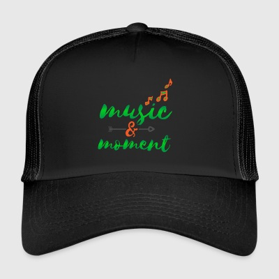 Musik Headset Sound Beats Rhytmus Moment Liebe - Trucker Cap